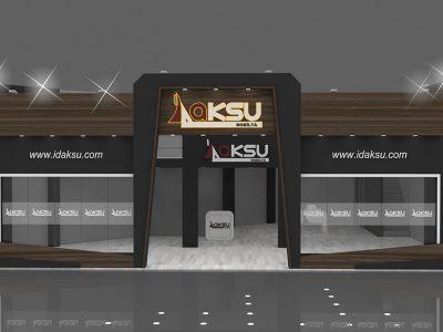 Exhibition Stand Design Furniture : Aksu furniture wooden exhibition stand design İmob cnr