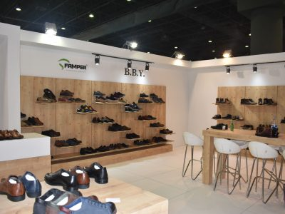 Exhibition Stand Shoes : Sayıner shoes wooden exhibition stand application aymod cnr